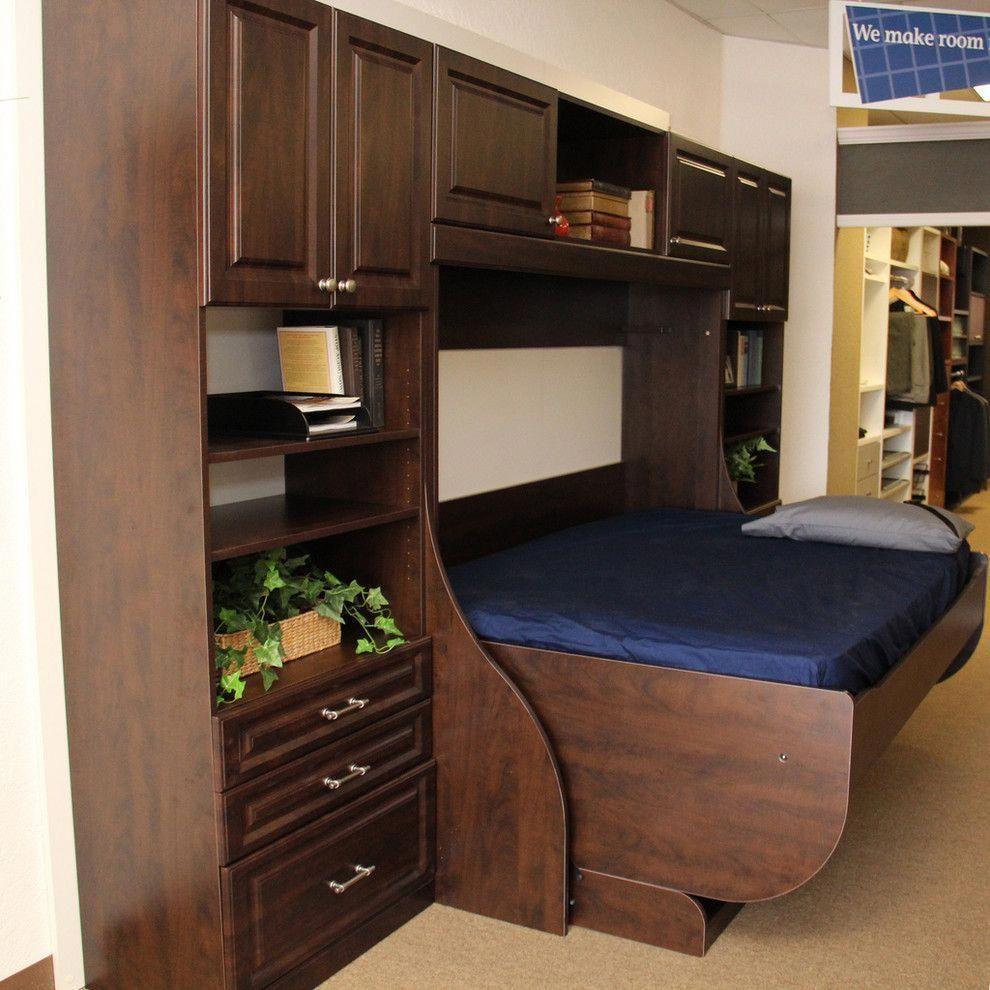 Horizontal murphy bed with cornerudesk google search