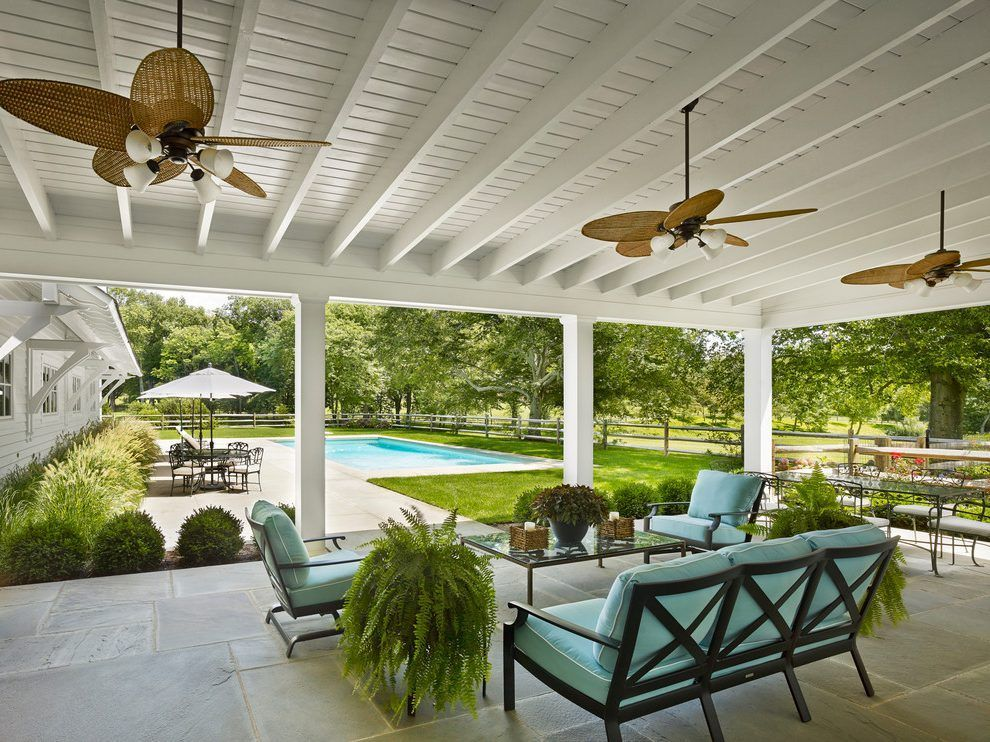 New York Cover Patio Ideas With Metal Fence And Gate Hardware