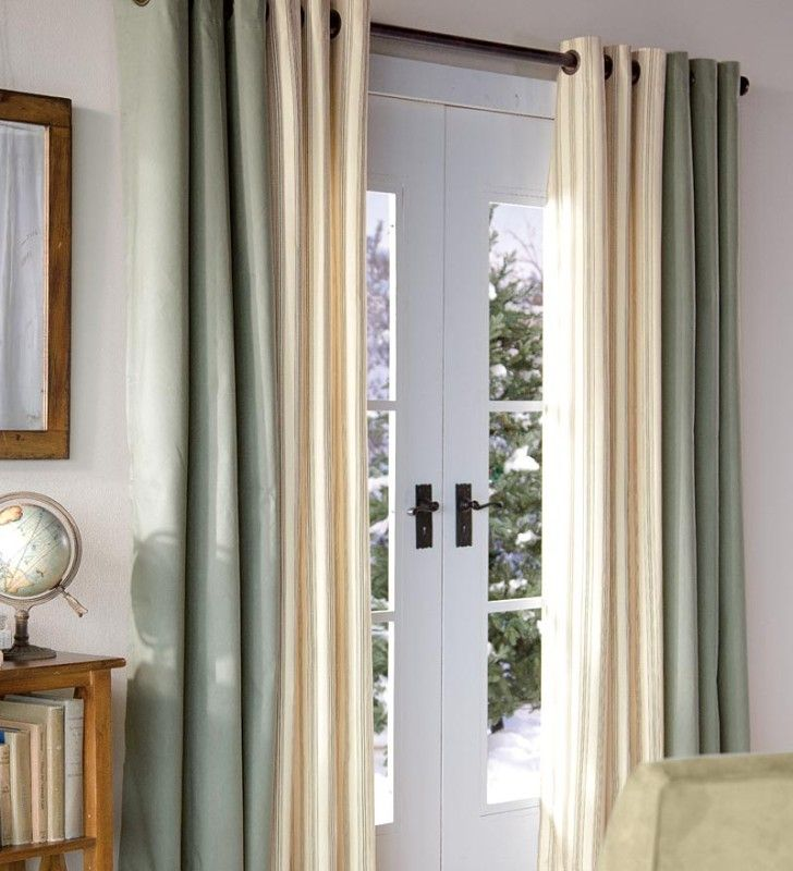 Interior Nice Curtain For Sliding Glass Door Patio Door Curtains