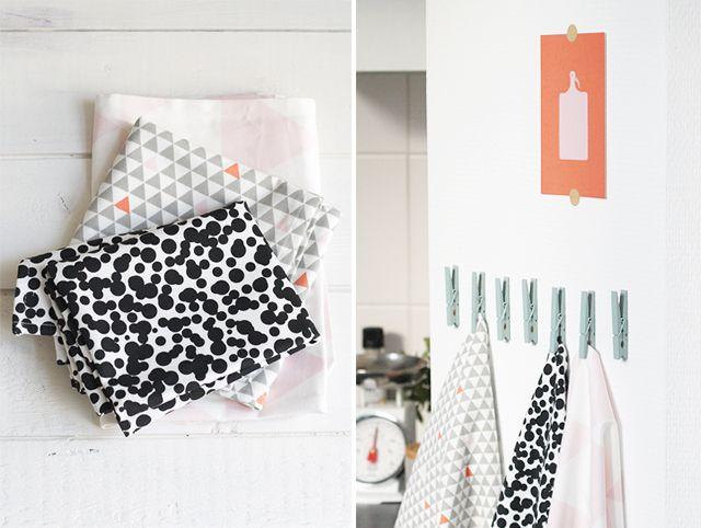 Vamos a empezar la semana con un diy colgadores de cocina - Ikea pinzas cocina ...