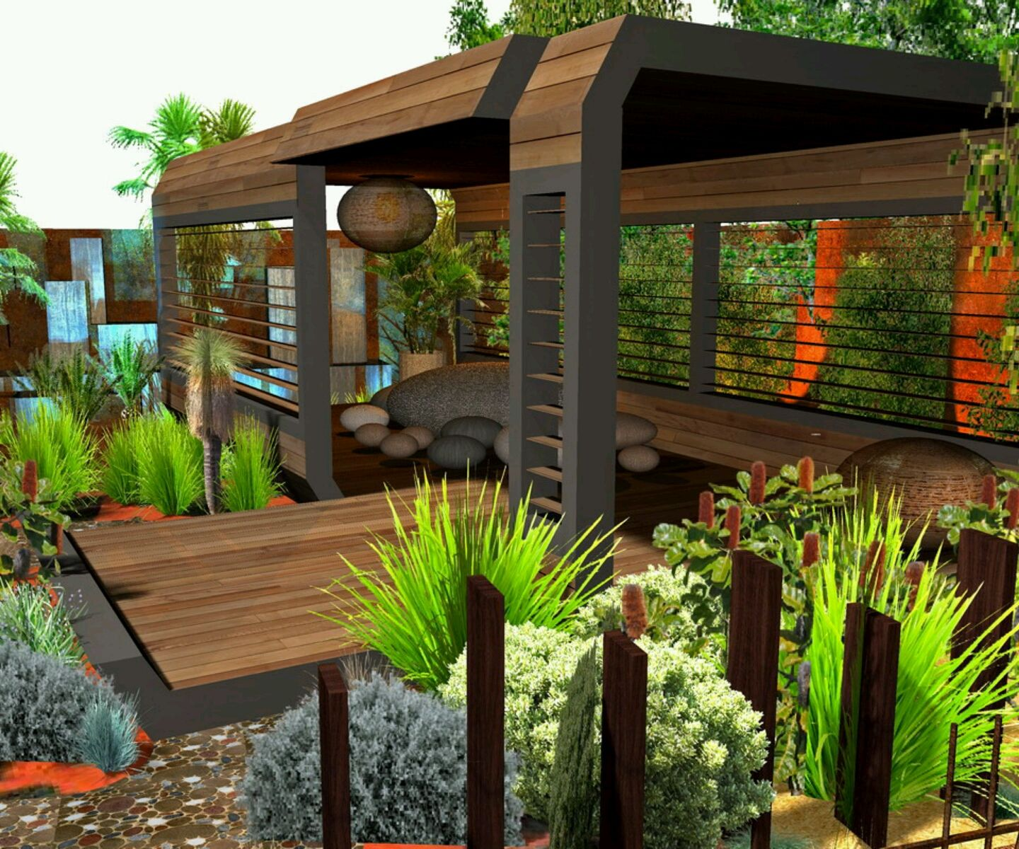 stunning modern home garden design ideas decoration - Garden Home Designs