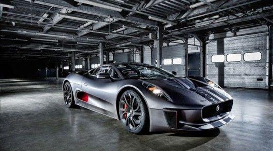 Jaguar Unveils 850 Horsepower C X75 Plug In Hybrid Supercar Ideas