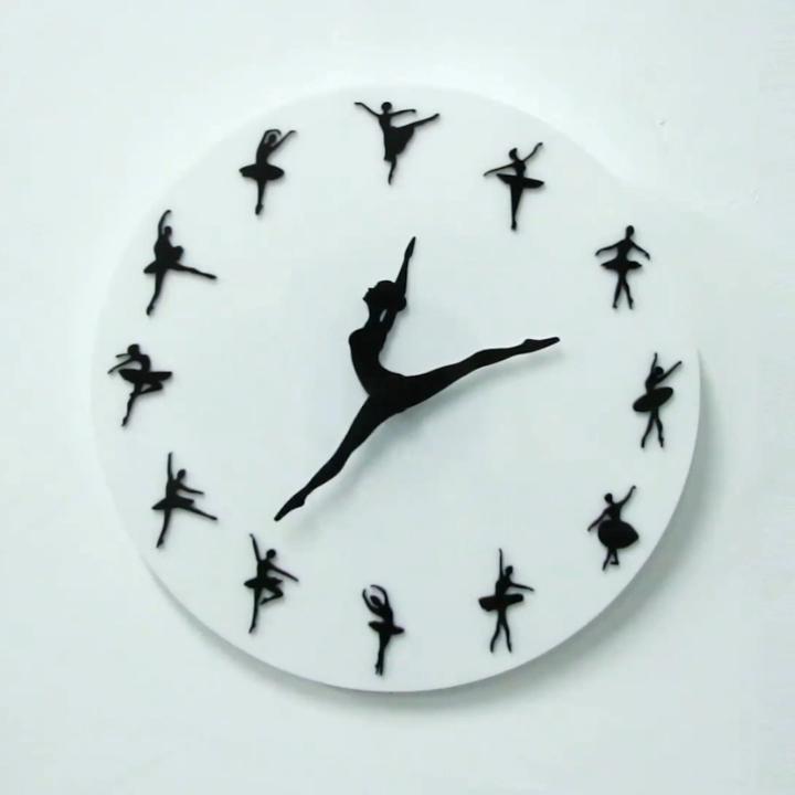 Ballet Wall Clock Video In 2020 Clock Wall Clock Ballet Dancers