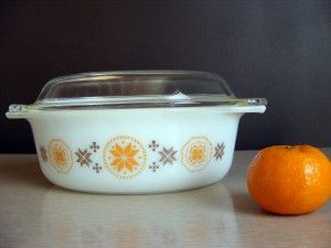 antique stores hickory nc Town & Country Casserole w/ lid 1960s picked at The Hickory  antique stores hickory nc