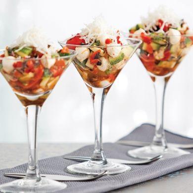 Antipasto à l'italienne - Les recettes de Caty #entreesrecettes