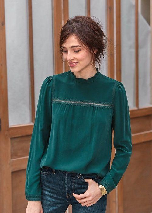 Me enamore del color y la blusa