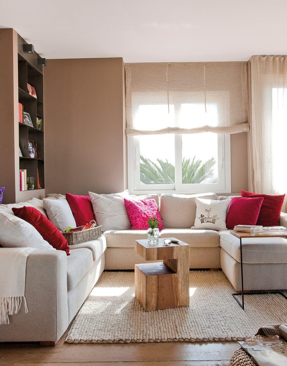 10 Salones Peque Os Y Perfectos Elmueble Com Salones Home  # Muebles Campo Gibraltar