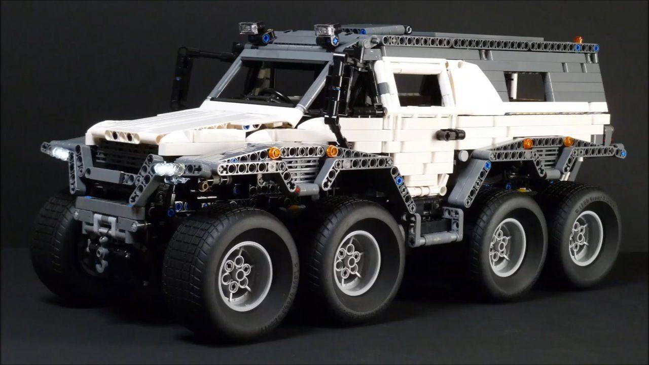 Lego Technic Avtoros Shaman 8x8 With Sbrick Lego Technic Lego