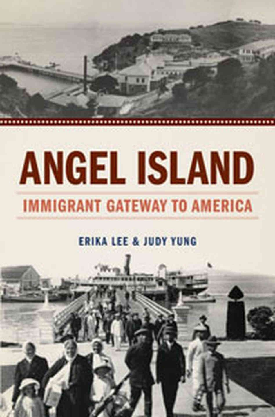 a difference between ellis island and angel island was that
