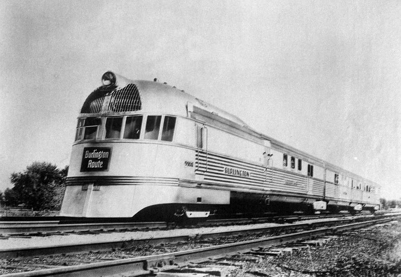 Pioneer Zephyr. - From the 1930s until 1987, the Budd Company was a leading manufacturer of stainless steel streamlined passenger rolling stock for a number of railroads.
