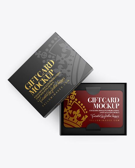 Download Download Gift Card In A Box Psd Mockup Top Viewtemplate In 2020 Free Psd Mockups Templates Box Mockup Mockup Free Psd PSD Mockup Templates