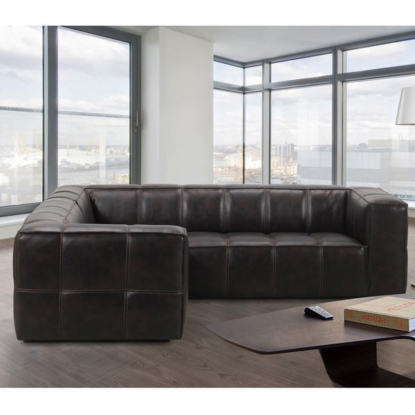 Athens Memory Foam Sectional Sofa Overstockcom Shopping The