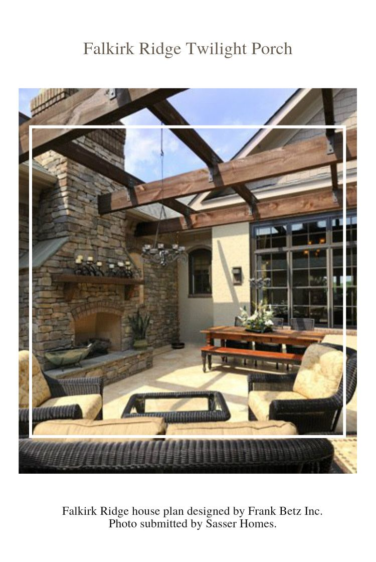 The Falkirk Ridge Twilight Porch is our feature design of ... on Outdoor Living Space Builders Near Me id=95929