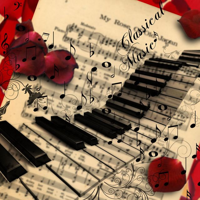 Classical Music Collage Music Collage Classical Music Dark Mood