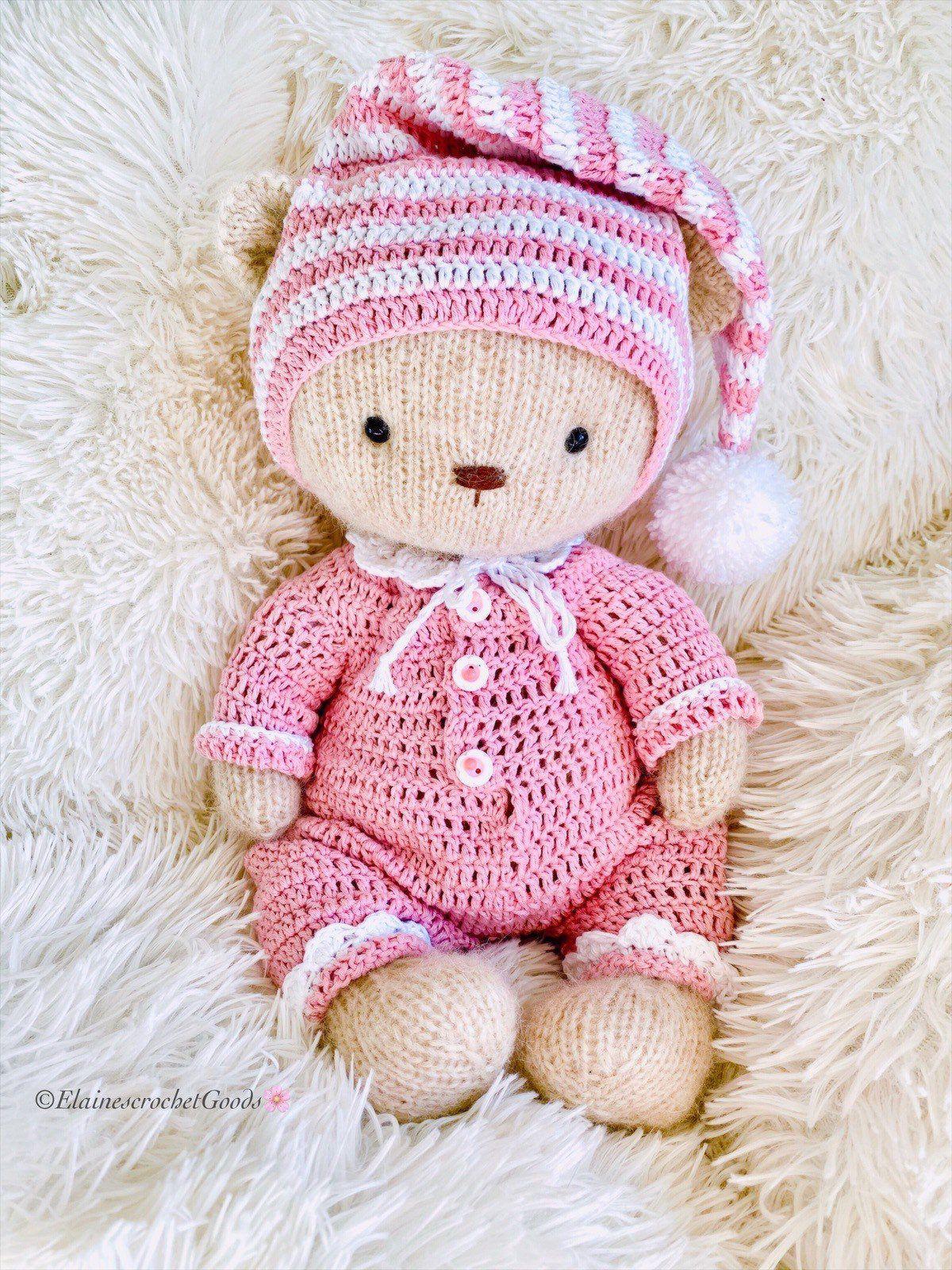 Mr bean teddy crochet bear crochet teddy bear baby shower   Etsy   1600x1200