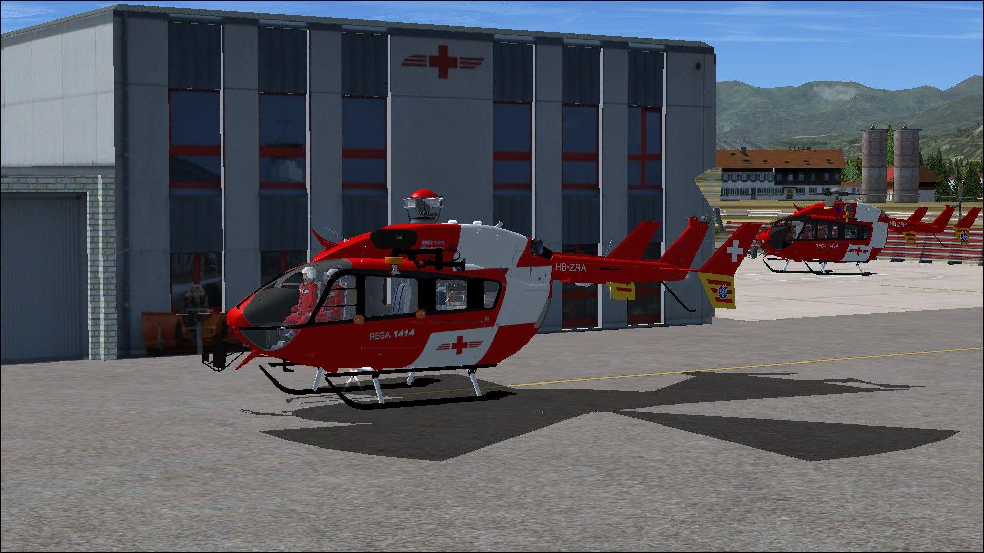 Eurocopter EC145 REGA SWISS - FSX | Microsoft Flight