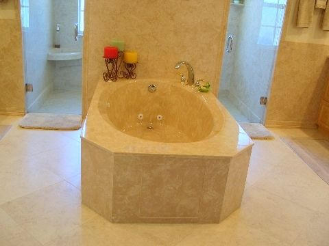 Soaking Tub Made From Cultured Marble Www Marbleworksiowa Com Cultured Marble Soaking Tub Bathtub