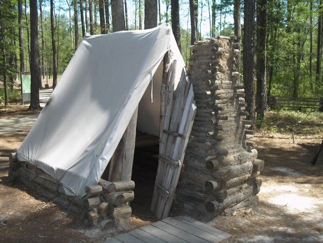 Civil War Tents : Civil war tents tent in confederate winter camp photo