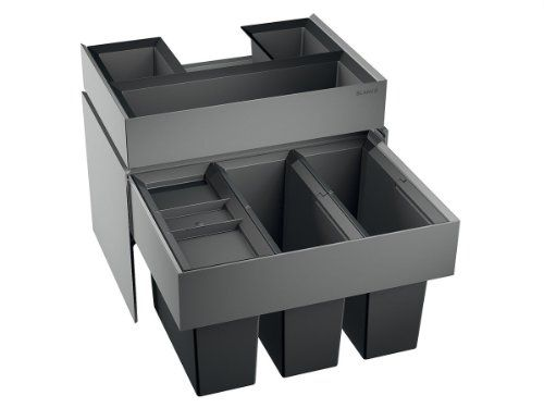 Blanco Select 60 3 Orga Einbau Abfallsammler Kunststoffeimer Schublade Mulleimer Einbau Abfallsammler Abfalleimer Schrank Kuchenmulleimer