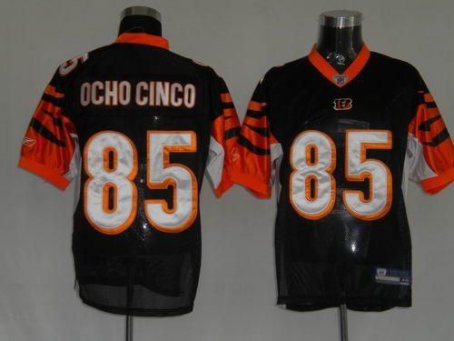 04d6fe7c $25.00 Reebok NFL Jersey Cincinnati Bengals Chad Ochocinco #85 Black ...