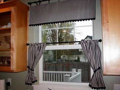 White Curtains black and white curtains for kitchen : Red Black And White Kitchen Curtains - Sarkem.net