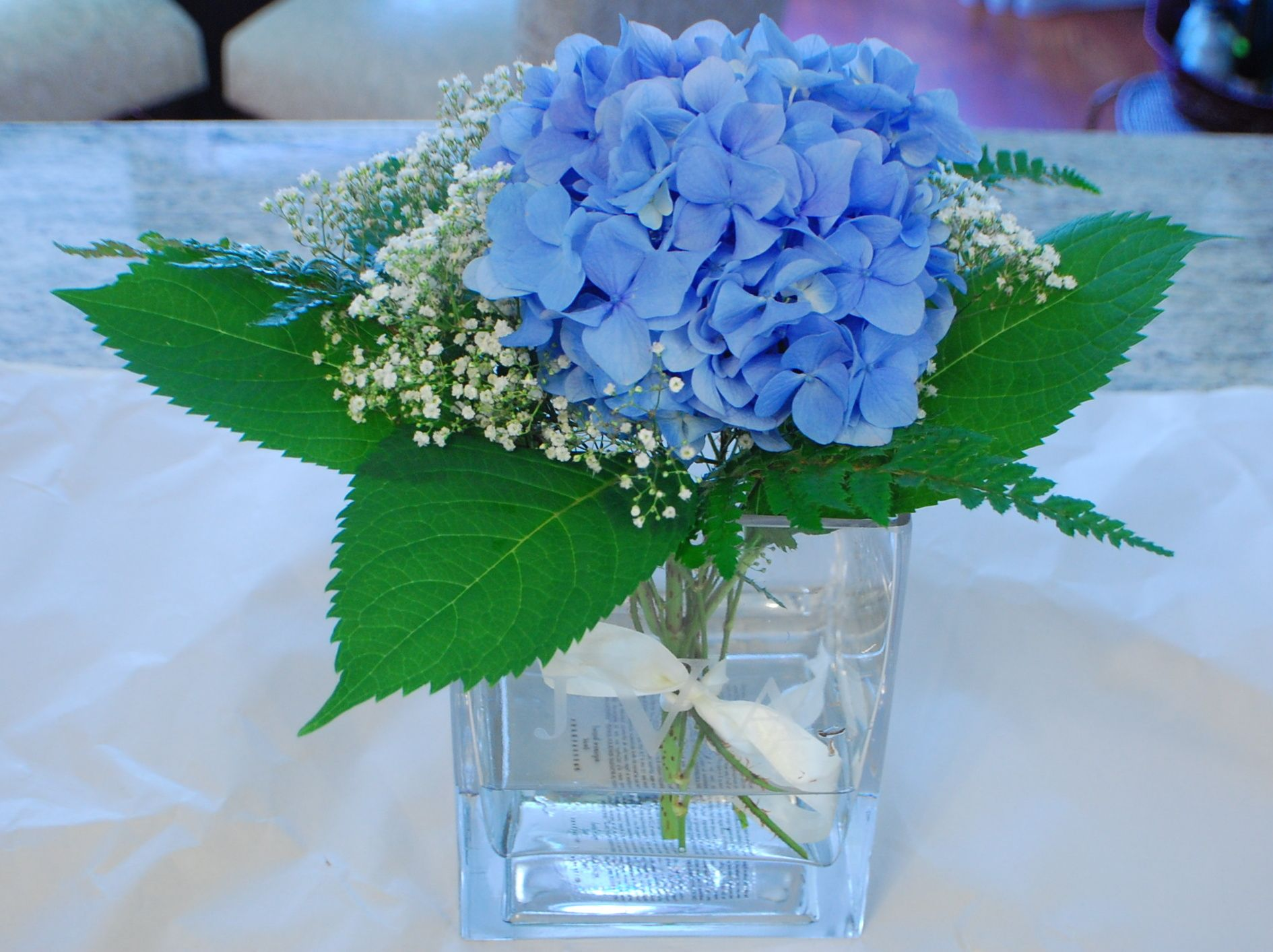 Hydrangea floral arrangements google search floral arrangements incredible hydrangea arrangements for home decor blue hydrangea arrangements with clear glass vase for floral arrangement and centerpiece ideas also dining izmirmasajfo Images