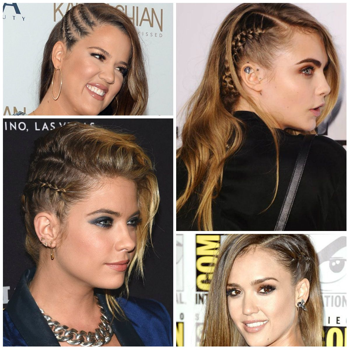 Pin By Tsr Services Trendy On Hairstyles To Try: 2016 Celebrities With Faux Undercut Braid Hairstyles