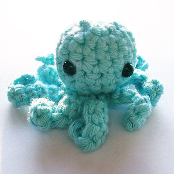 tiny crochet octopus | Nativa | Pinterest