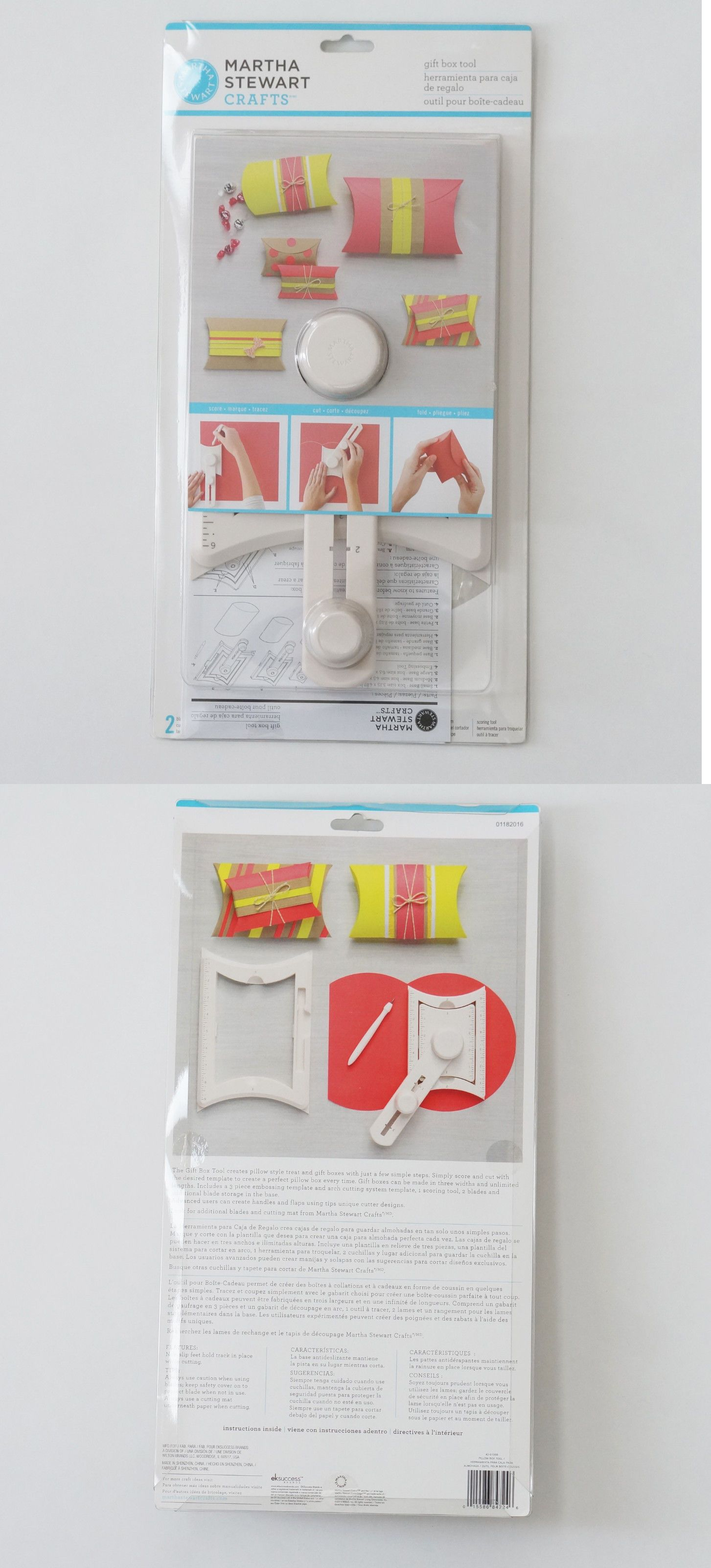 Cutting Templates 183234: Martha Stewart Gift Box Tool | New ...