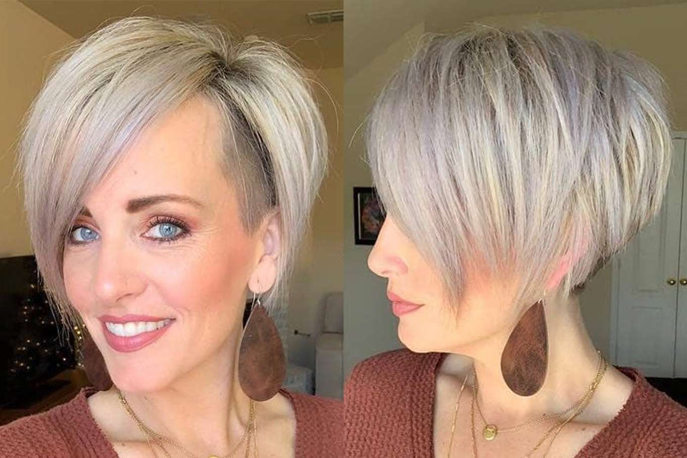 Haley Young Short Hairstyles 1 Short Hairstyles For Thick Hair Short Hair Styles Thick Hair Styles