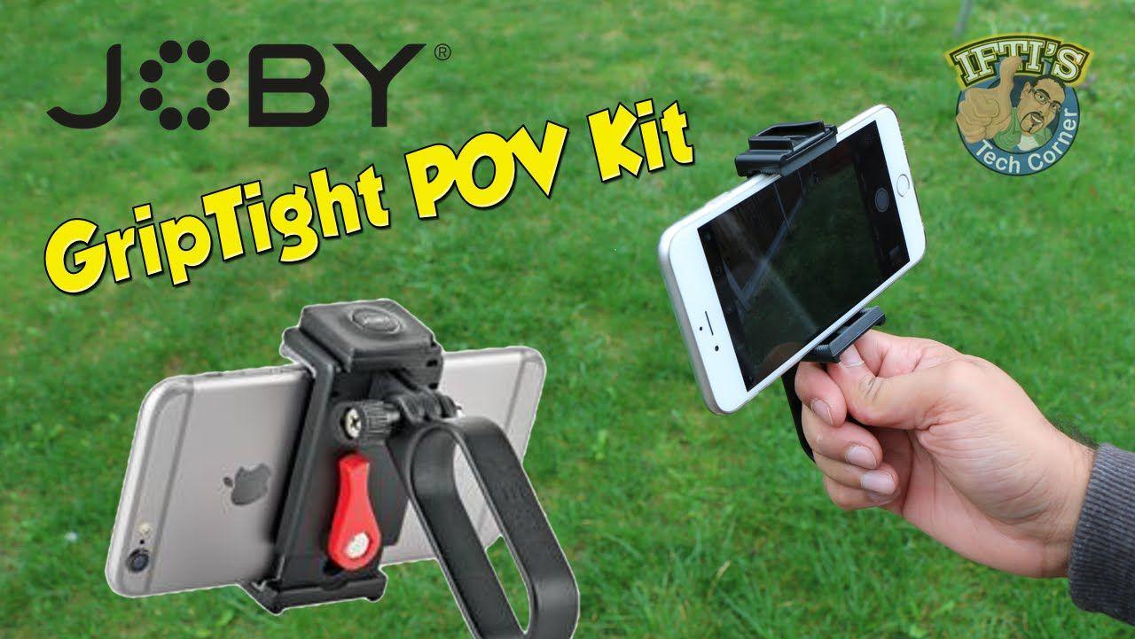 Joby griptight pov kit for smartphones iphone samsung