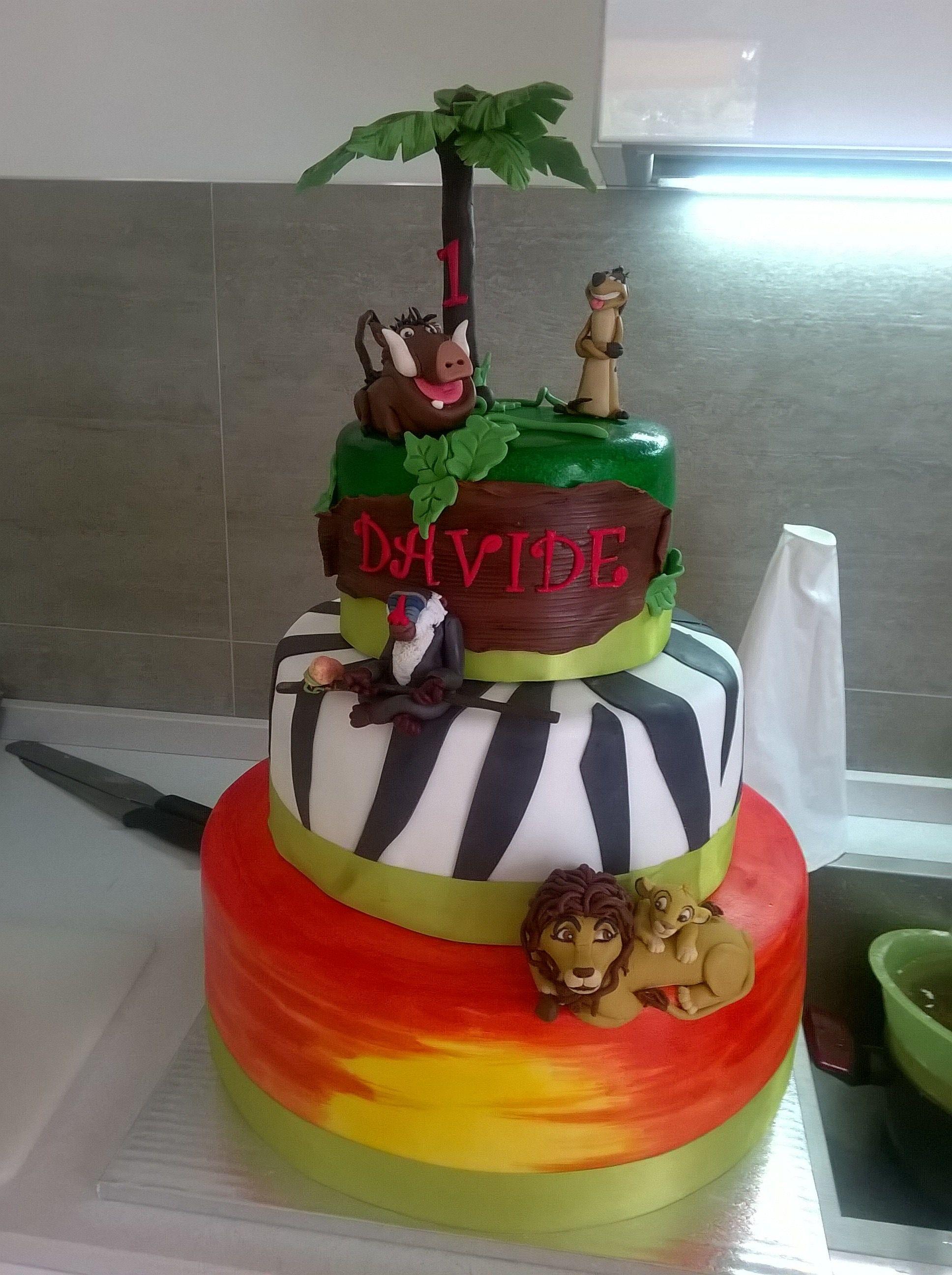 Cake Design The Lion King Cake Design Pinterest