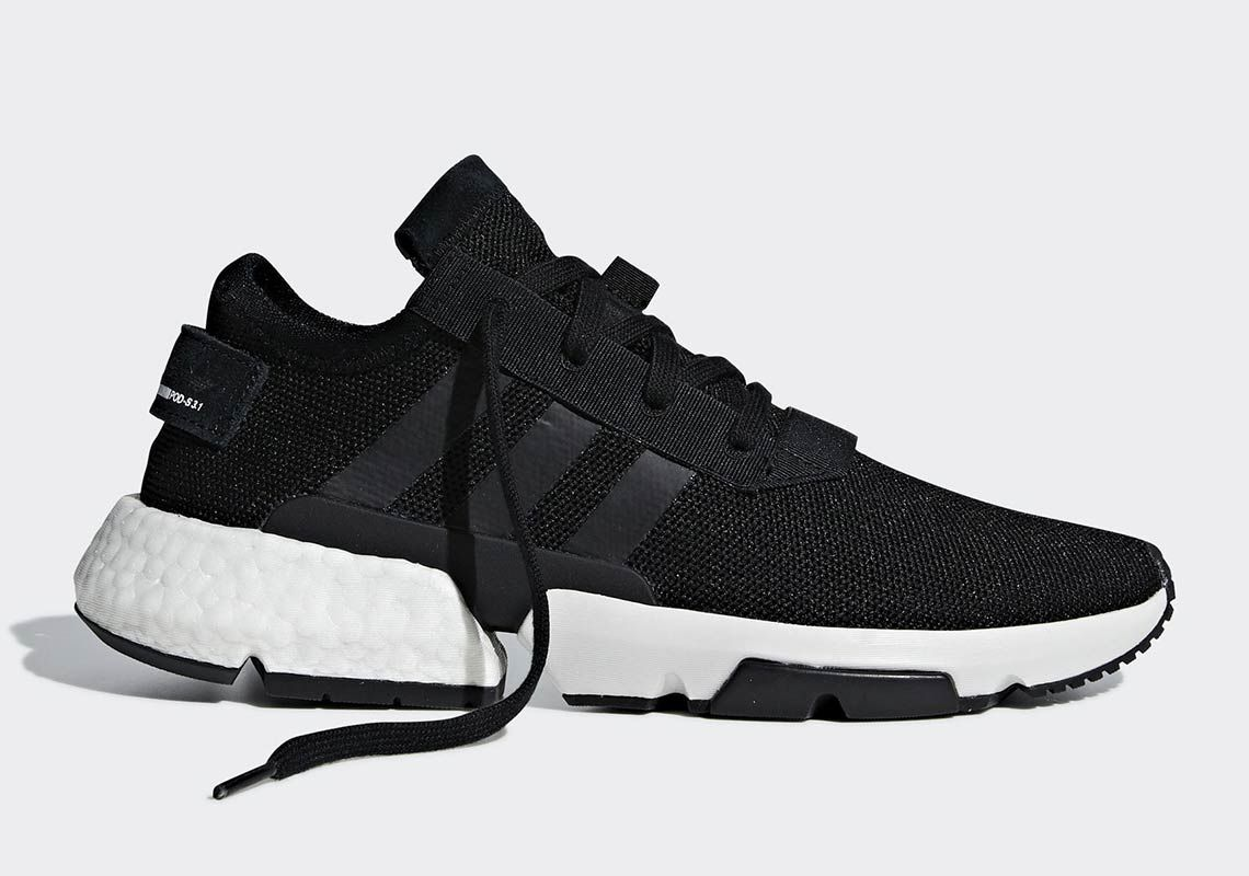POD S3.1 Shoes Black Mens in 2020 | Black shoes, Blue shoes
