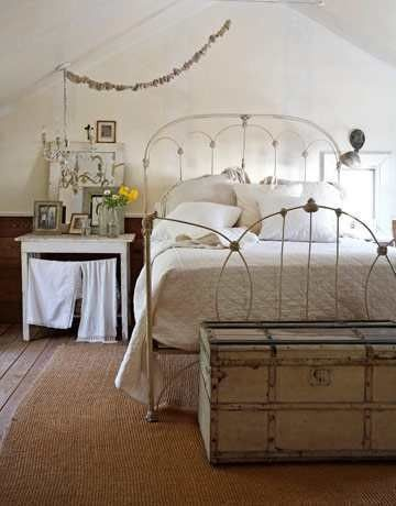 Beau Bedroom   $500 Iron Bed U2014 One Of Emilie%27s Most Expensive Purchases U2014  Anchors