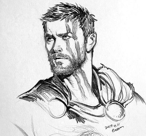 Thor Avengers Drawings Marvel Art Drawings Marvel Art