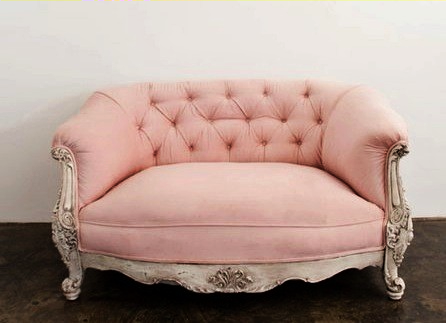 Sorbet pink double throne chair | Country French | Pinterest ...