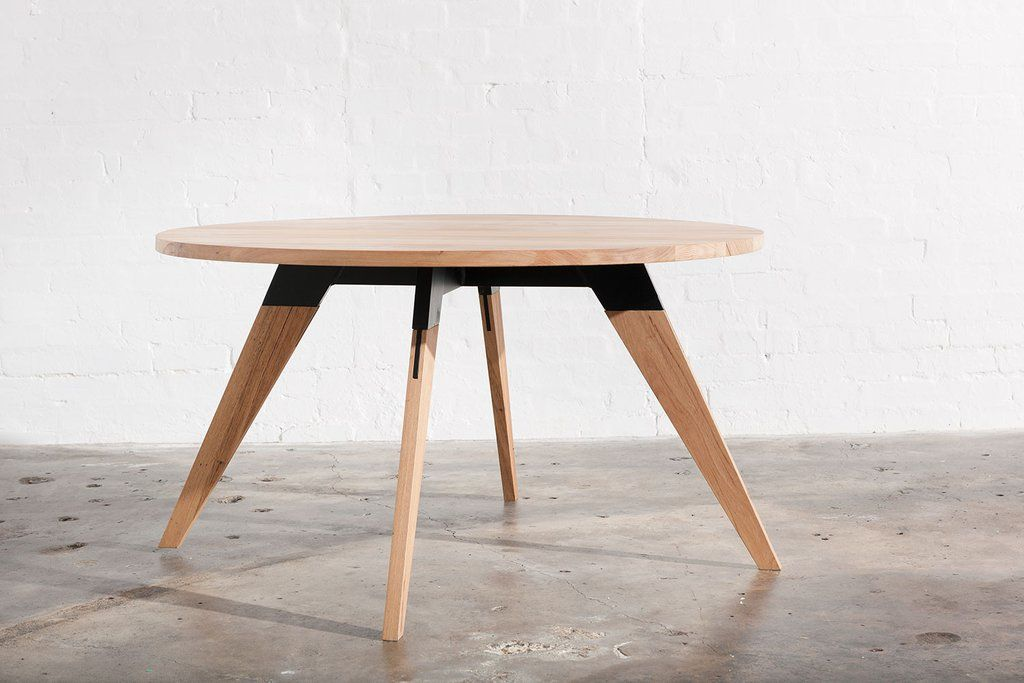 Round Industrial Dining Table Melbourne Industrial Dining Table