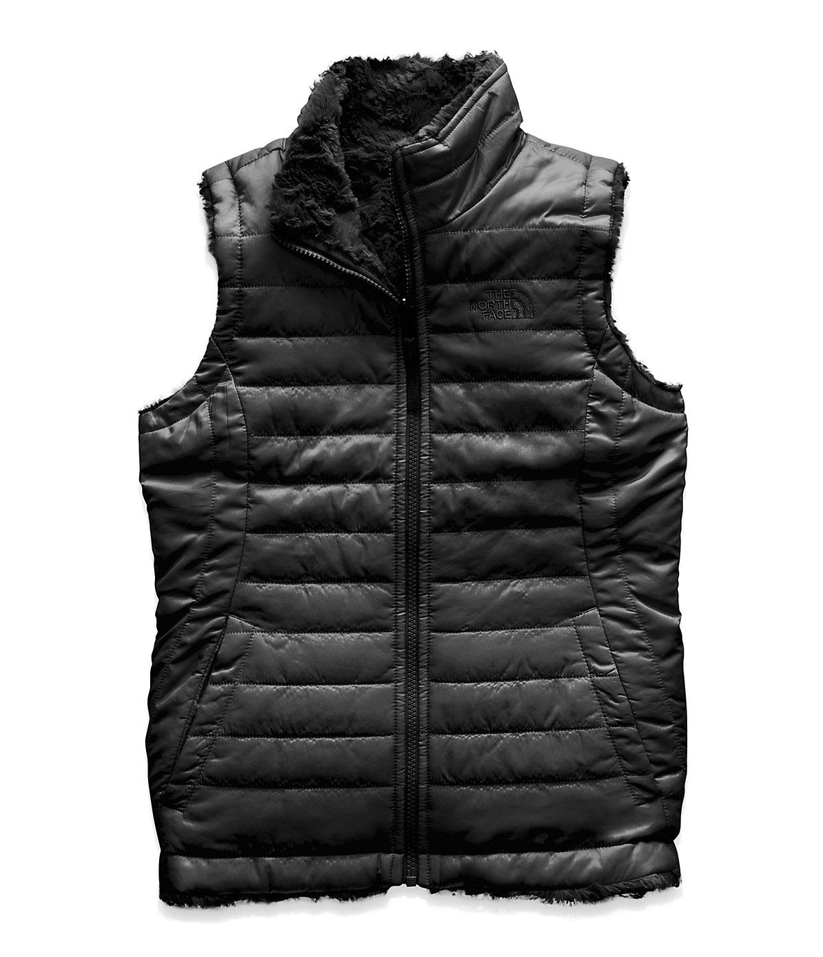 21d5d5b7e424 The North Face Girls  Reversible Mossbud Swirl Vest