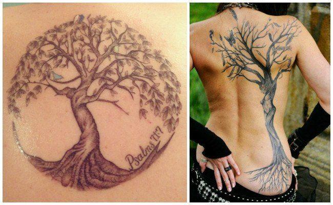 Tatuajes De Arbol De La Vida Para Mujeres Tatuajes Tatuaje