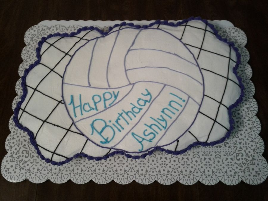 My Very First Attempt To Make A Cupcake Pull Apart Cake Volleyball