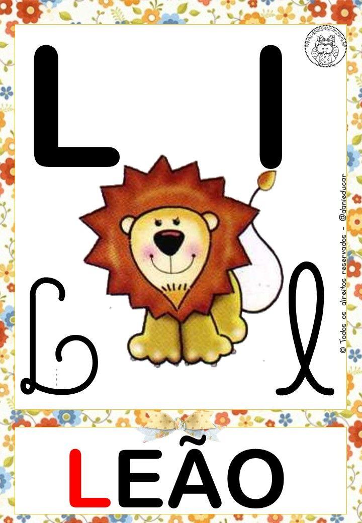 Alfabeto Para Parede Com Imagens Atividade Alfabeto Educacao