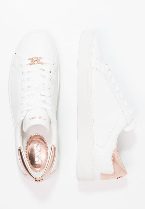 f62c02af64b5 Luxe MICHAEL Michael Kors KYLE SNEAKER WHITE SOLE - Baskets basses - optic  white blanc  149