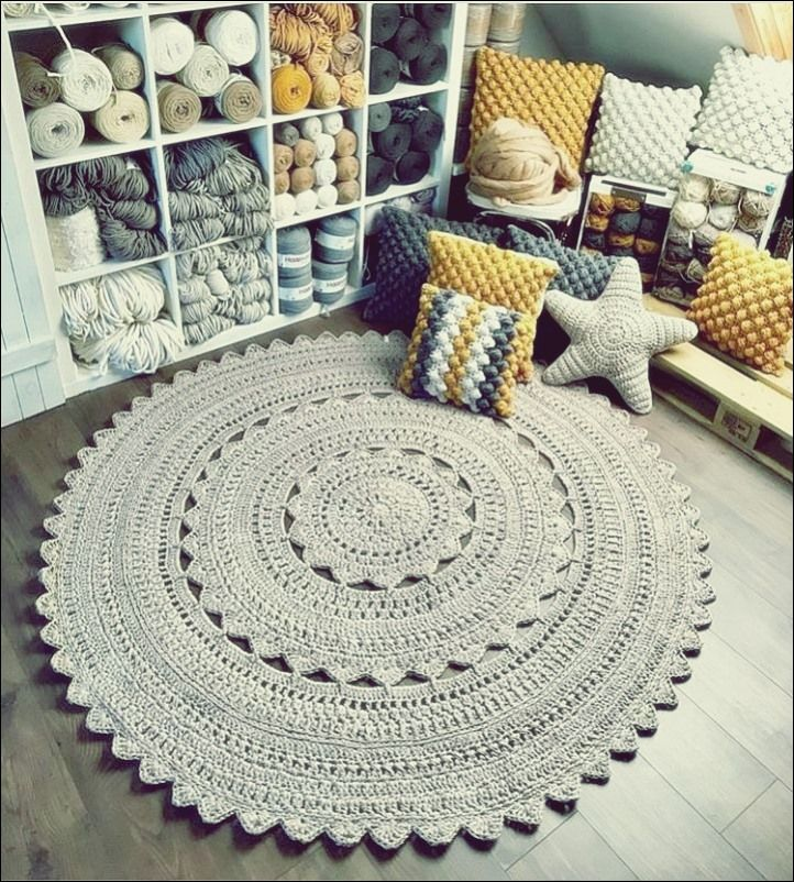 Photo of Wunderbare Teppiche Ideen von Häkeln – Free Knitting