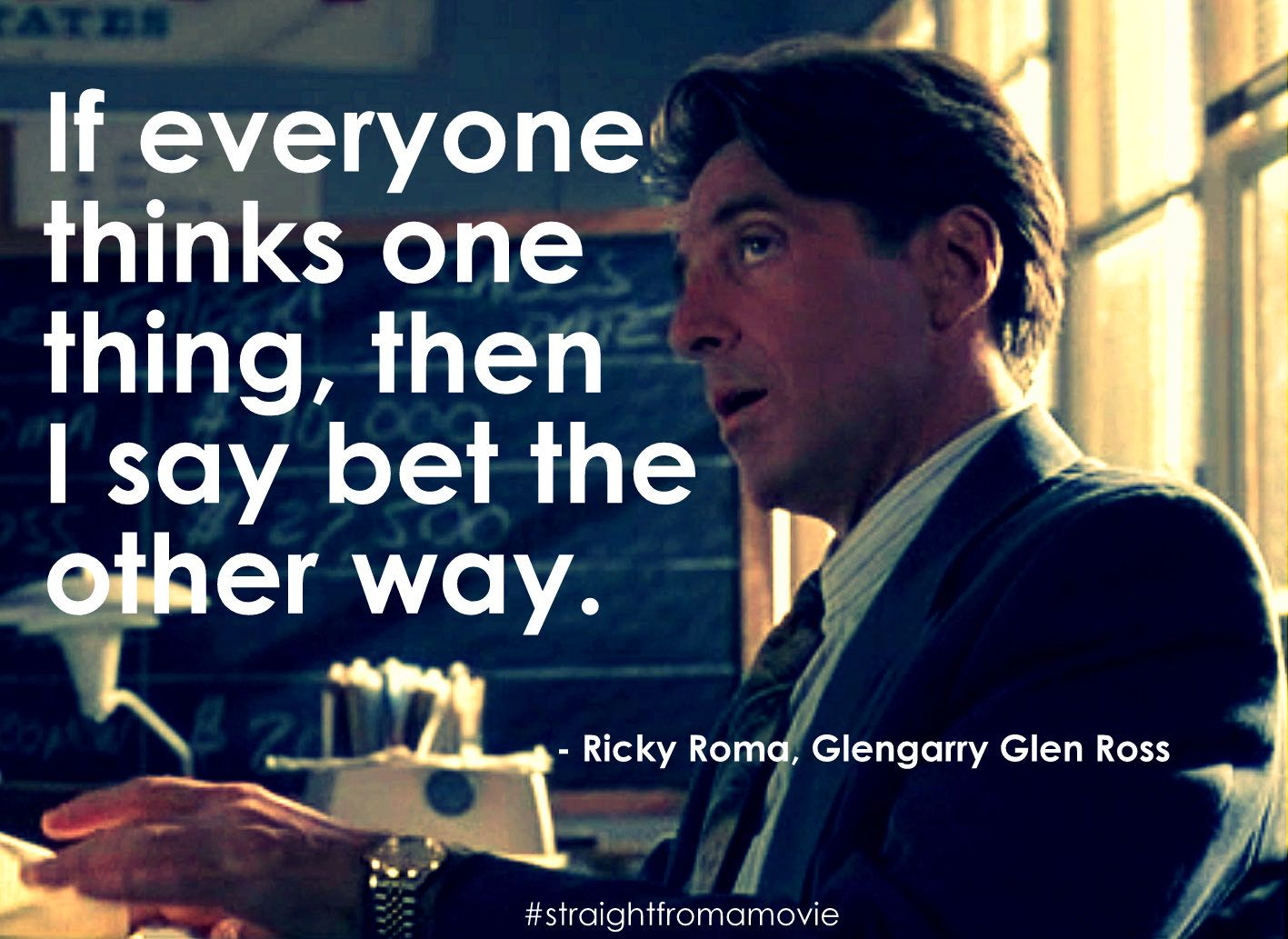 Glengarry Glen Ross Quotes Quote from Glengarry Glen Ross | Straight From a Movie | Pinterest  Glengarry Glen Ross Quotes
