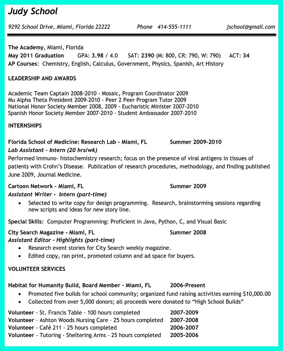 Cool Write Properly Your Accomplishments In College Application Resume Check More At Http Snefci Org Write Properly Accomplishments College Application Resum