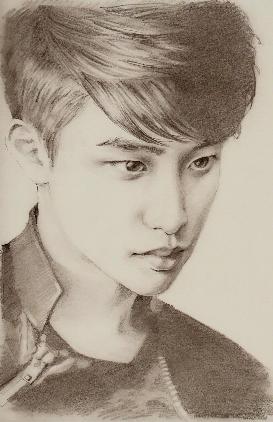 EXO Portrait #2  D.O. by manapia.deviantar... on @deviantART
