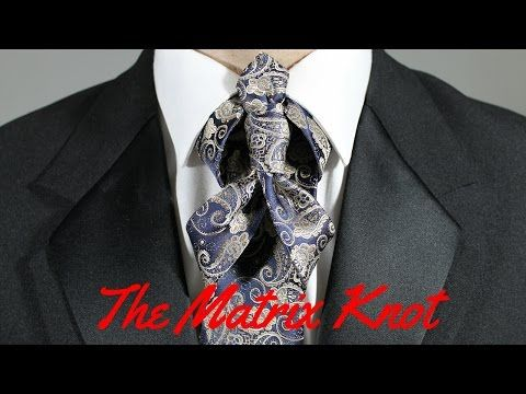 How to tie the merovingian knot or ediety knot for your necktie how to tie the merovingian knot or ediety knot for your necktie youtube ccuart Image collections