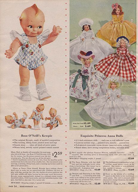 1945 Sears Christmas Catalog in 2020   New frock