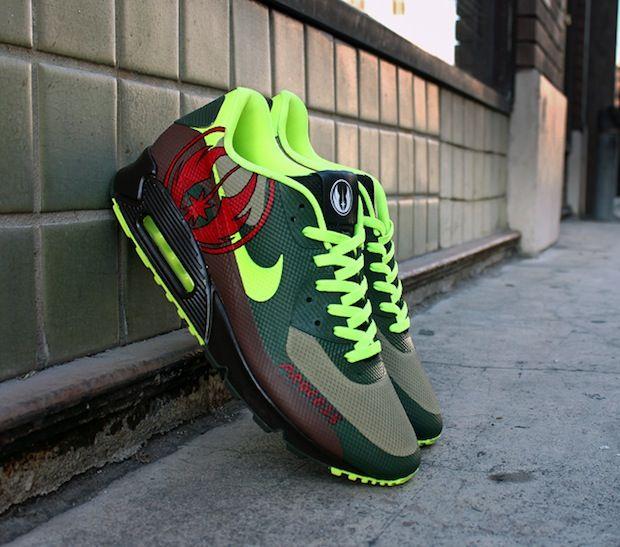 "Nike Air Max 90 Hyperfuse ""Jedi"" Custom"