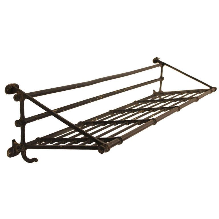 Antique Iron Train Luggage Coat Rack From A Unique Collection Of And Modern